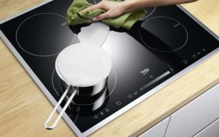 Как очистить от старого нагара стеклокерамическую плиту