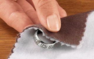Как в домашних условиях отбелить изделия из серебра