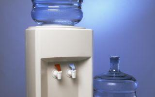 Как самостоятельно почистить кулер для воды