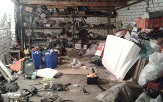Советы по уборке в гараже