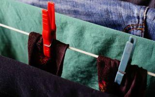 Как быстро высушить одежду в домашних условиях, простые способы