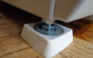 Антивибрационные ножки для стиральной машины, их характеристики и применение