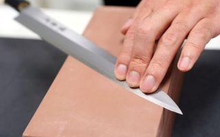 Как правильно наточить дома ножи, используем брусок, мусат, точилку