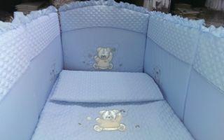 Как стирать поролон, советы на примере бортиков для детской кроватки