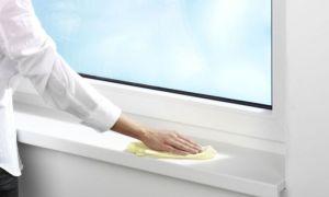 Чем отмыть пластиковый подоконник в домашних условиях