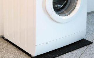 Антивибрационный коврик под стиральную машину, общий обзор