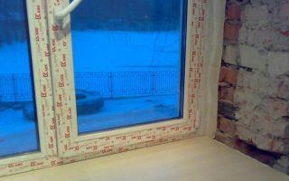 Как снять старую защитную пленку с пластиковых окон