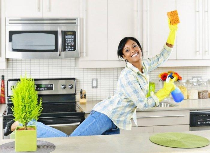 Уборка в доме для девочек