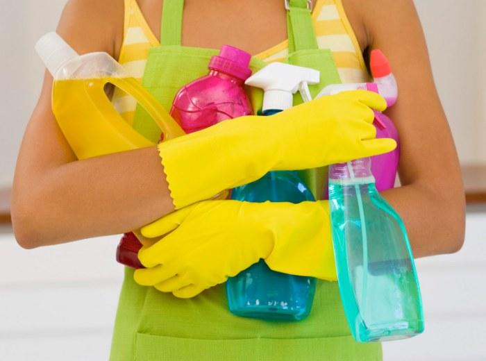 Веселая уборка в доме