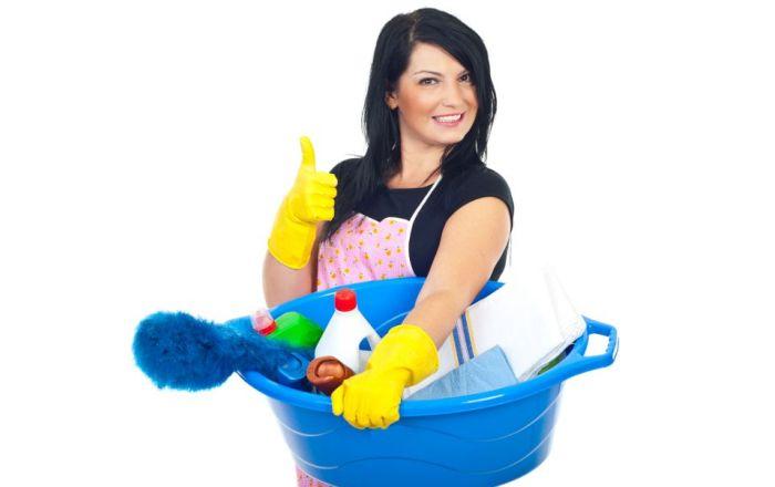 Хорошее настроение для уборки