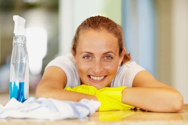 Итогом уборки может стать не только чистота в доме, но и хорошее настроение