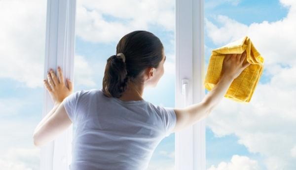 Мытье окон без разводов