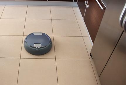 Уборка кухни роботом-пылесосом