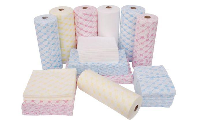 Широкий ассортимент одноразовых бумажных салфеток