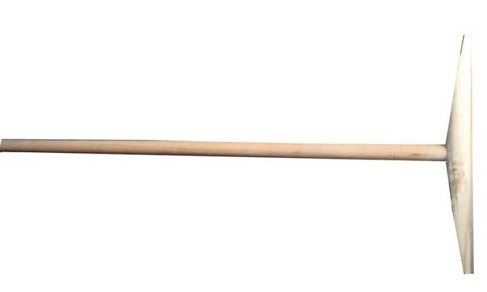 Деревянная швабра из прошлого