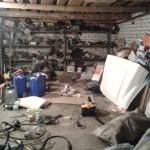 Уборка в гараже