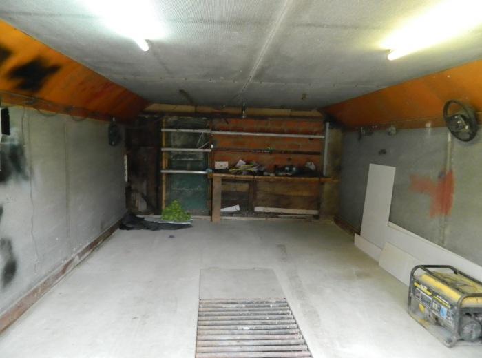 Вот так выглядит убранный гараж