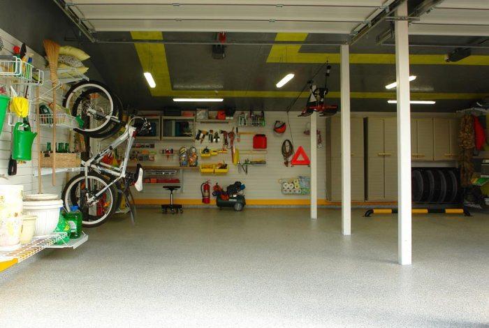 ЧИстый и опрятный гараж