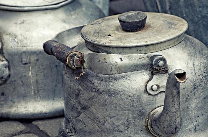 Избавление от накипи в чайнике