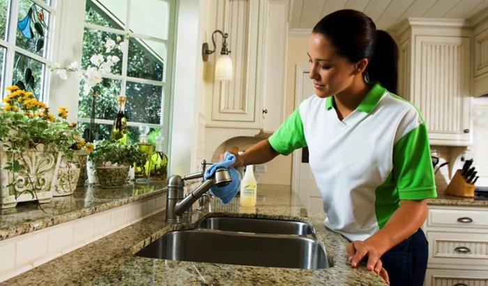 Работы по мытью кухни