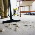Уборка дома после строительства