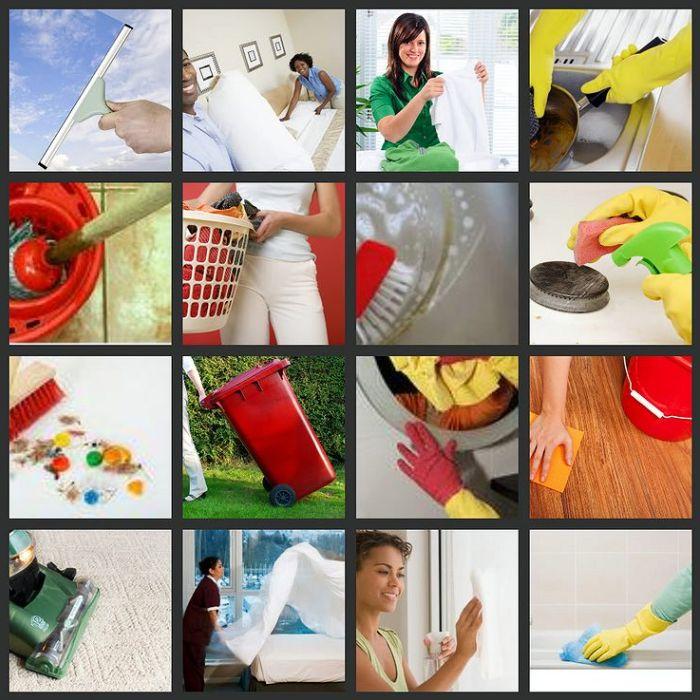 Работы по наведению чистоты и порядка