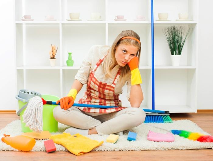 Положительный настрой очень важен для работ по дому