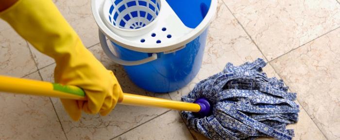 Применение инструмента для наведения чистоты