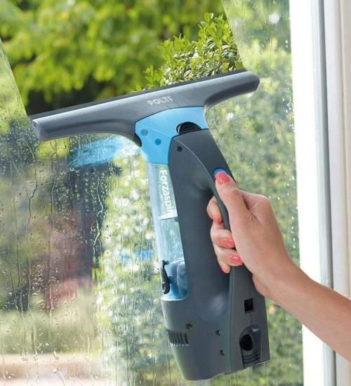 Мытье окна парогенератором