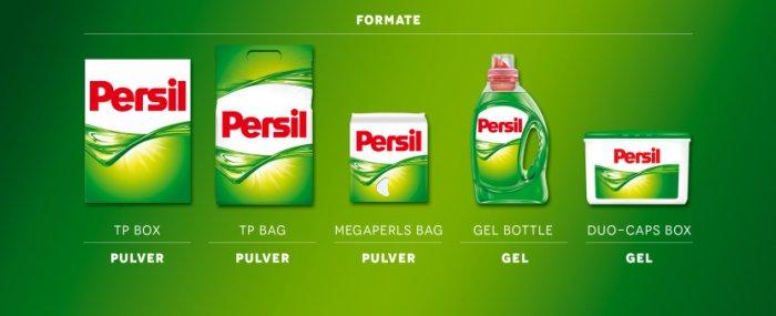 Упаковки порошка для белья Персил