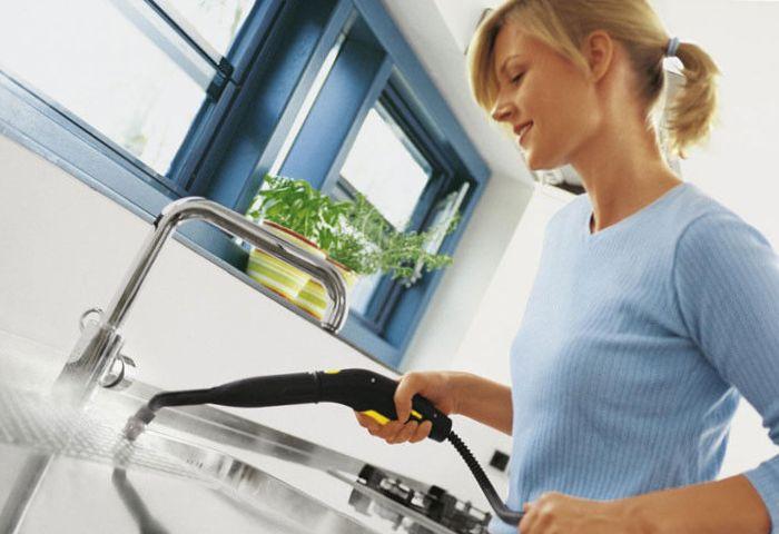 Проведение уборки на кухне