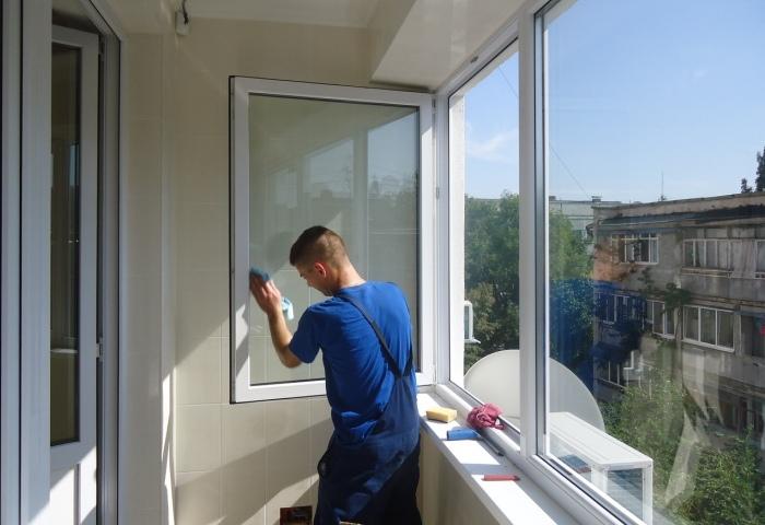 Приведение балкона в порядок