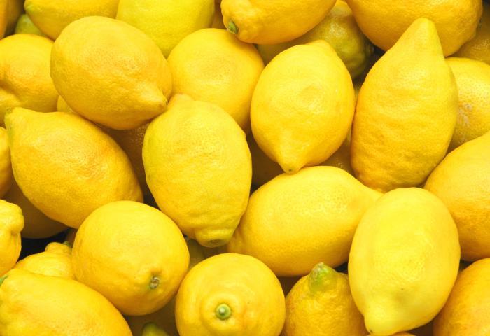 Популярный и приятный запах лимонов