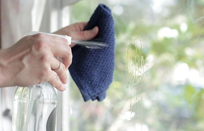 Окончание работ по мытью окон