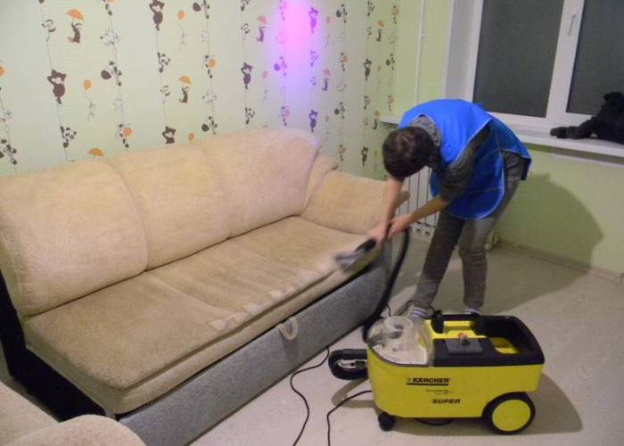 Услуги клининговой компании для уборки квартиры