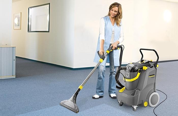 Мощный аппарат для уборки в больших помещениях