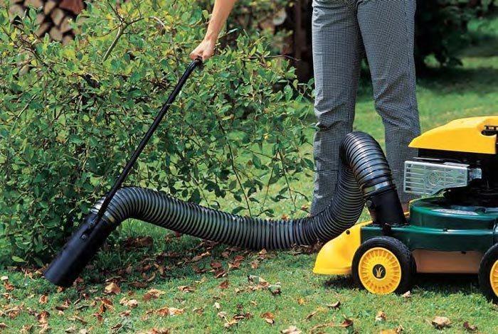 Аппарат для уборки листьев в саду