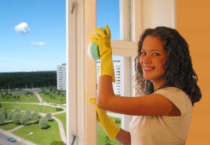 Расход энергии организма при мытье окон
