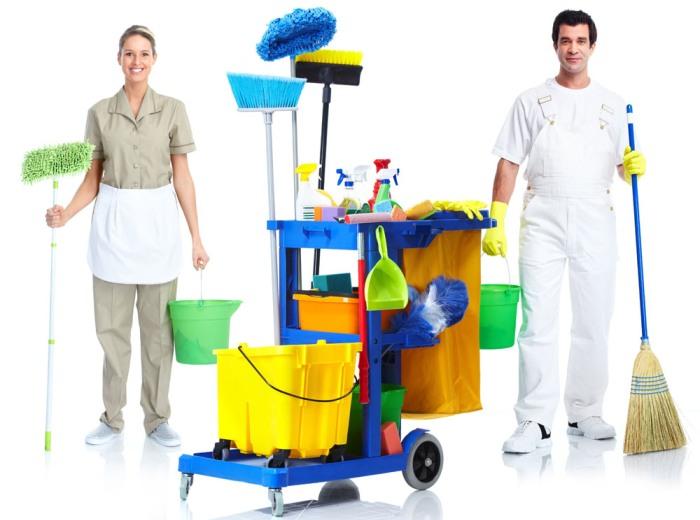 Профессионалы уборочных работ