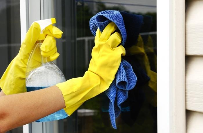 Практика современного мытья окон