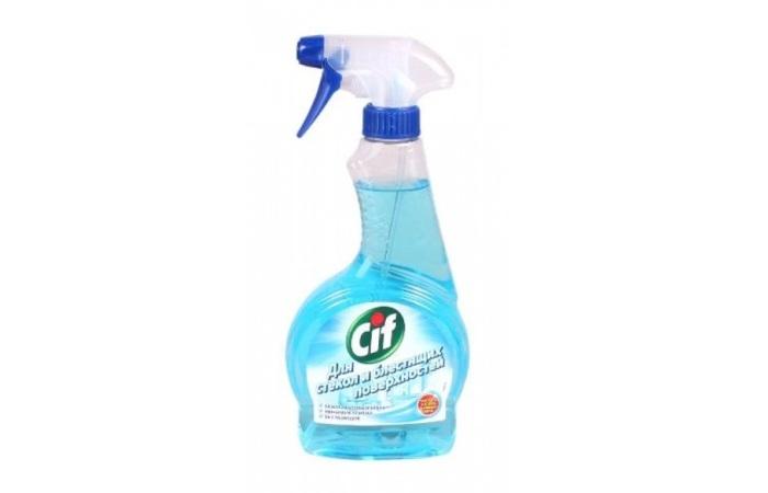 Средство для мытья стекол Сиф