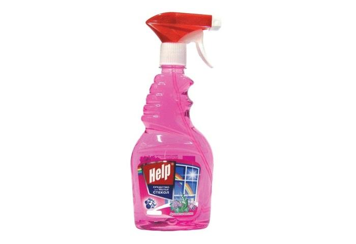 Средство для мытья стекол Хелп