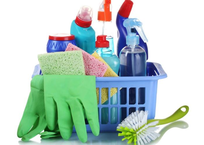 Бытовая химия для уборки дома
