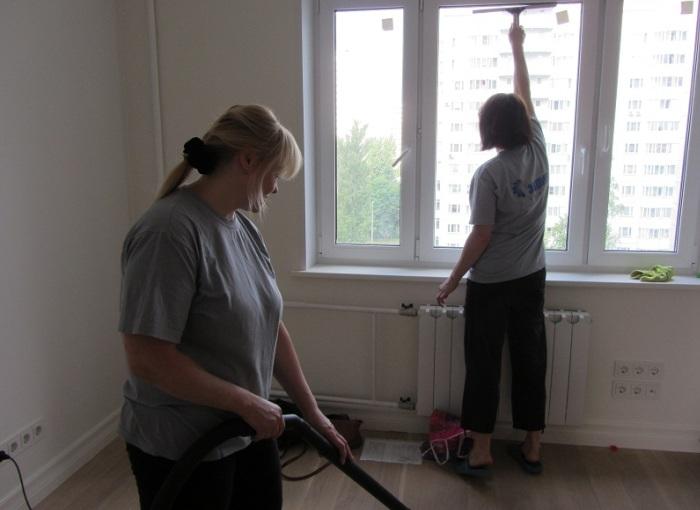 Уборка квартиры специалистами