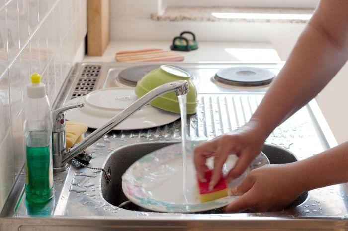 Быстрое мытье посуды