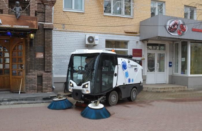 Уборка территории города