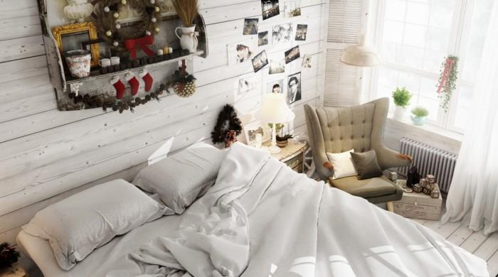 Спальня определенно требует уборки