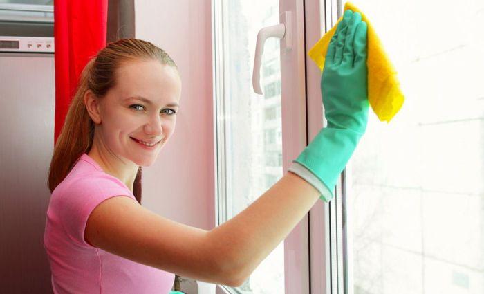 Мытье окон до блеска