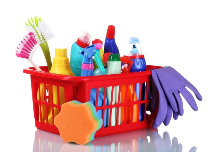 Бытовая химия для работ по дому