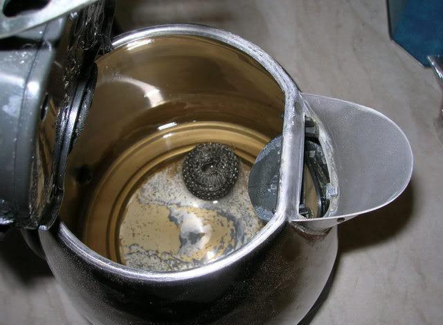 Влияние некачественной воды на внутренности чайника